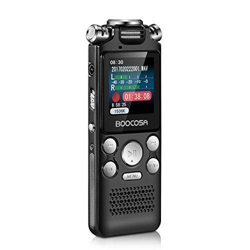 Espion Enregistreur vocal numérique activé par la voix
