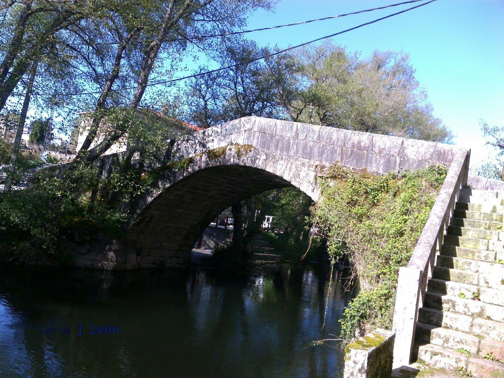 Ponte Vella De Baños De Molgas. ( Ourense).