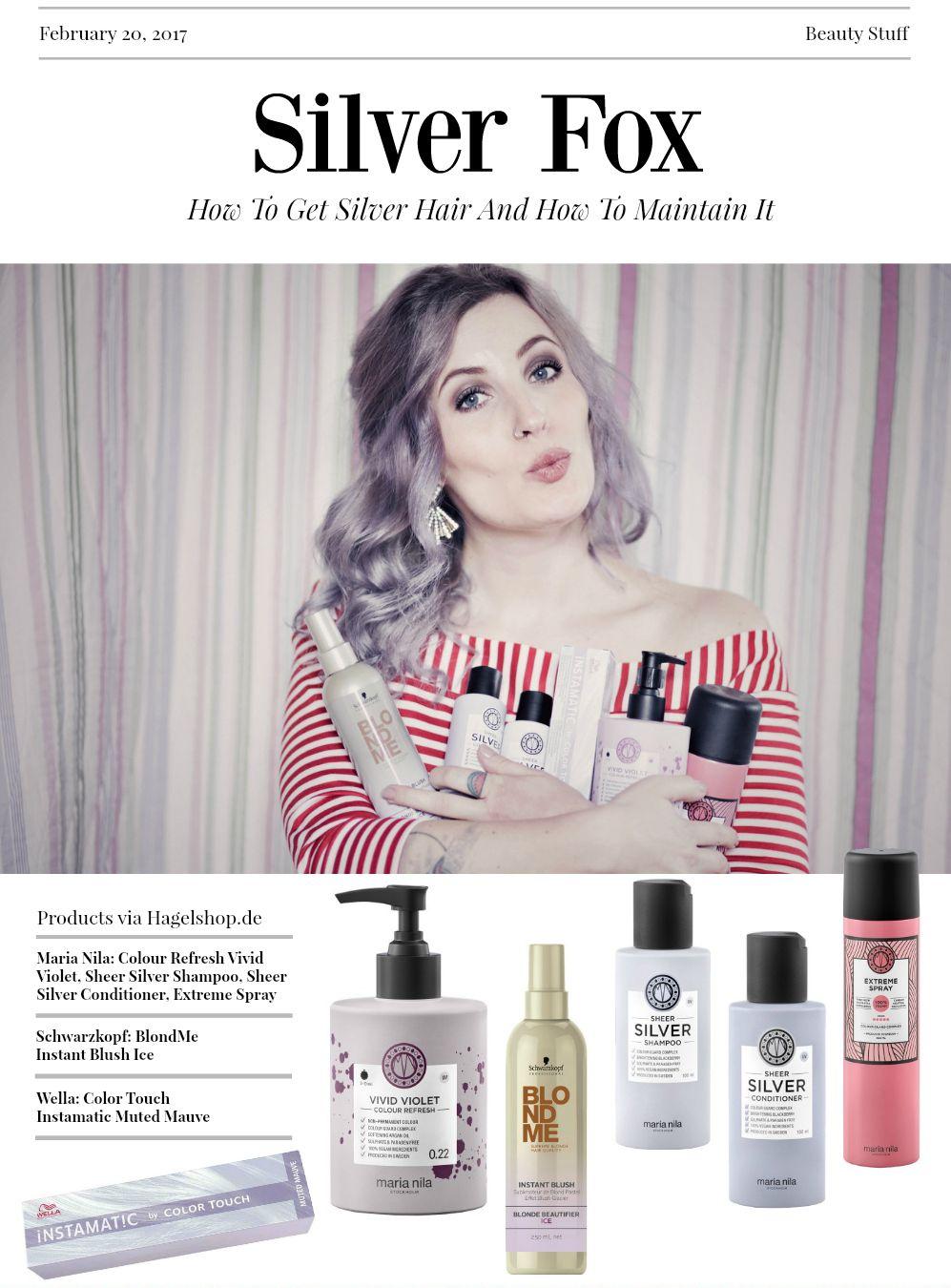 tutorial lila graue haare wie werden meine haare grau f rbeanleitung graue haare beste. Black Bedroom Furniture Sets. Home Design Ideas