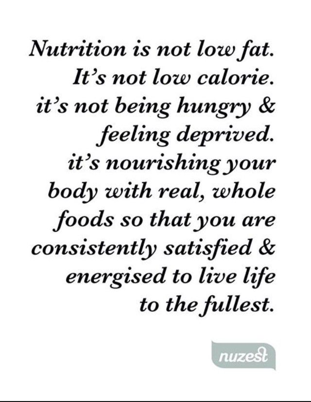 Nutrition can be explained differently by many, but