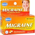 $6.89 - hyland-s-migraine-headache-relief-60-tablets - Temporarily relieves the symptoms of migraine pain.