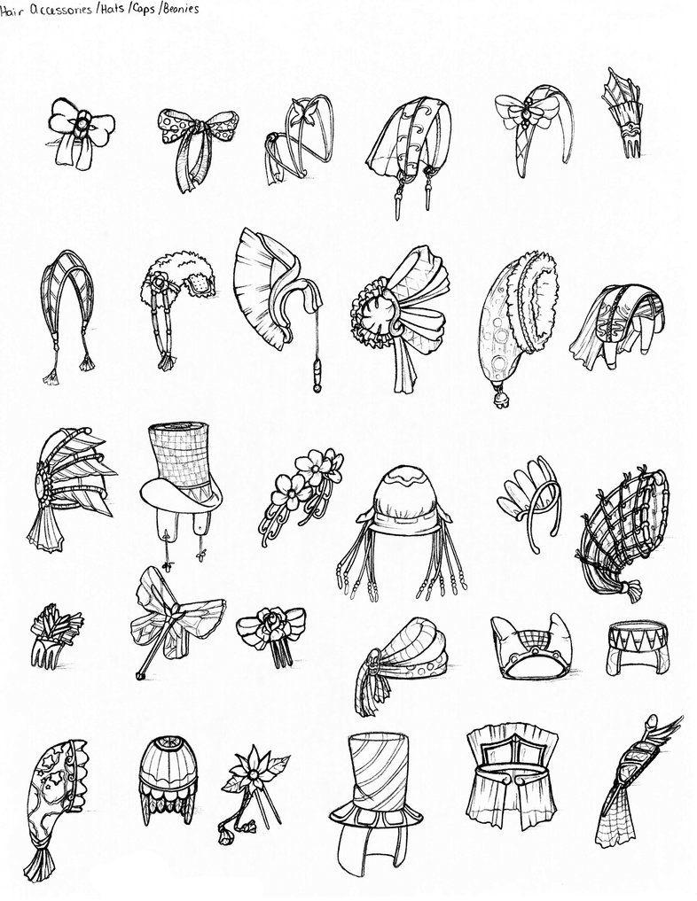 Clothing Hair Accessories Fashion Design Drawings Fashion Drawing Technical Drawing