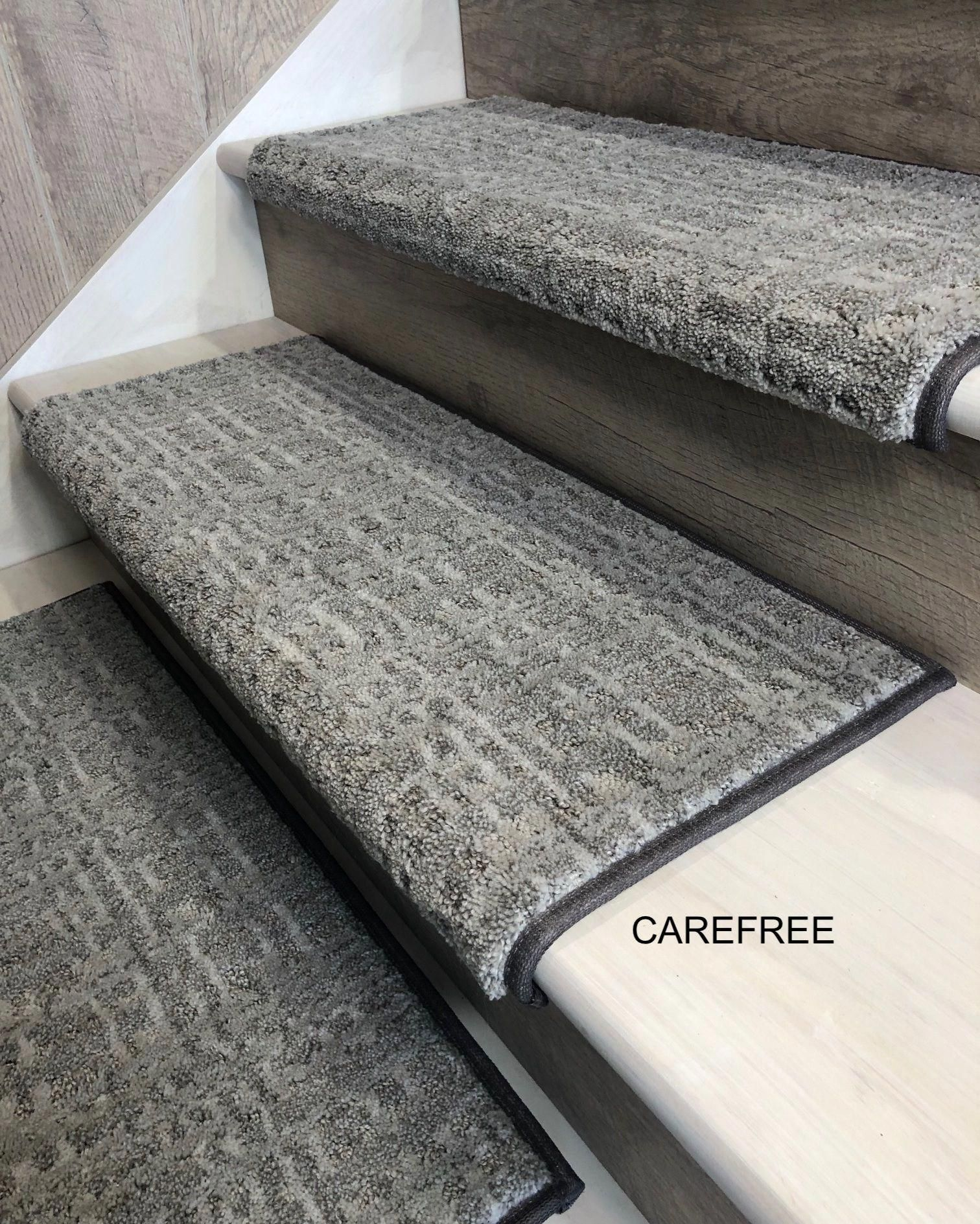 Carpet Runners 30 Inches Wide Carpetrunnersextralong In 2020 | 30 Inch Carpet Stair Treads | Sided Tape | Bullnose Wraparound | Machine Washable | Greek Key | Non Skid