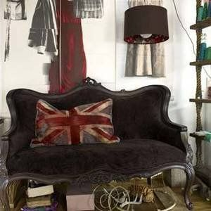 black velvet sofa - love