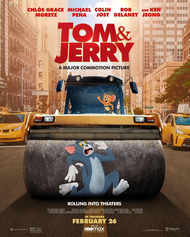 Tom Jerry 2021 New Film Posters En 2021 Tom Y Jerry Poster De Peliculas Solo En Cines