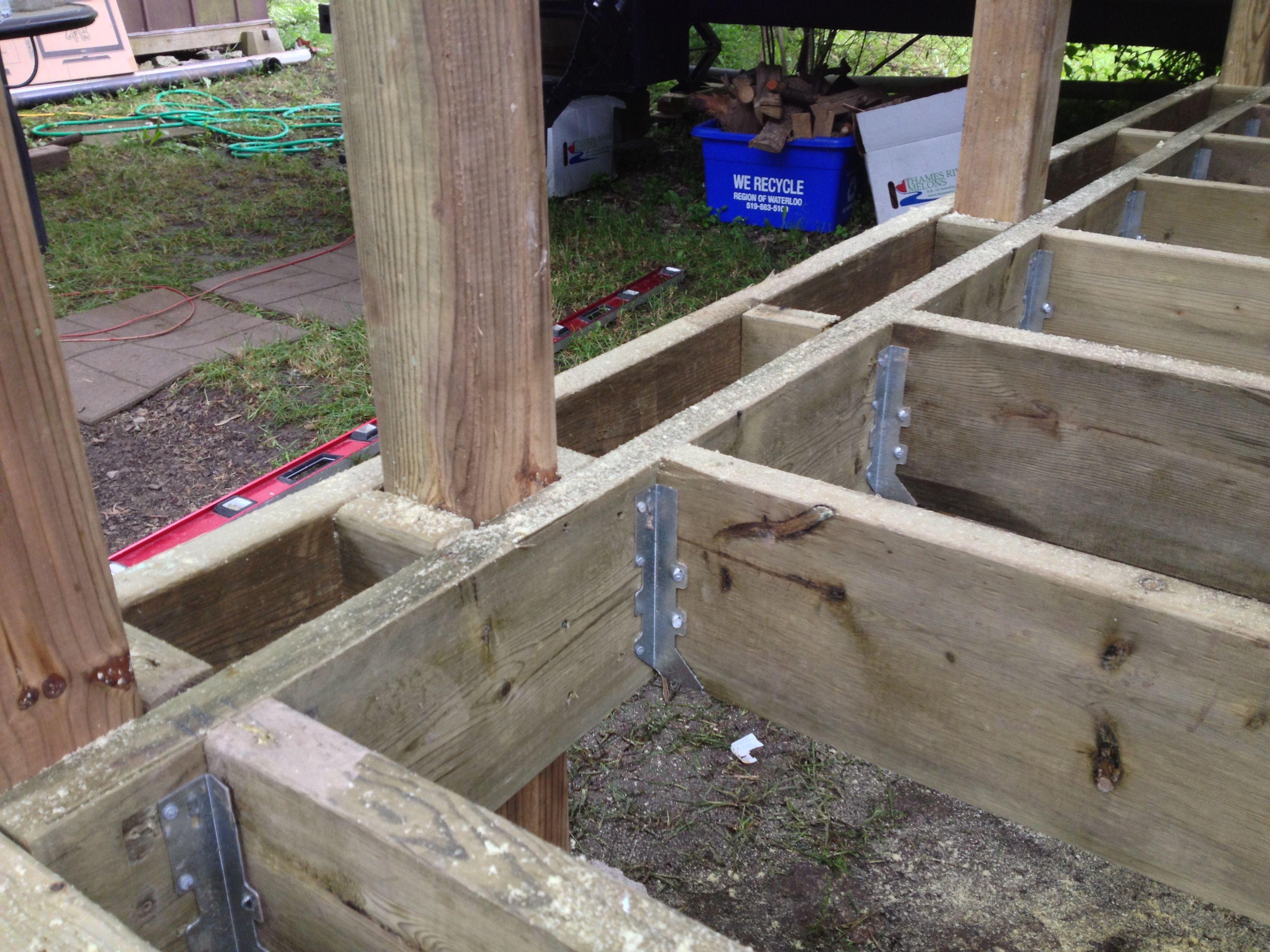 Deck Framing Designs Backyard
