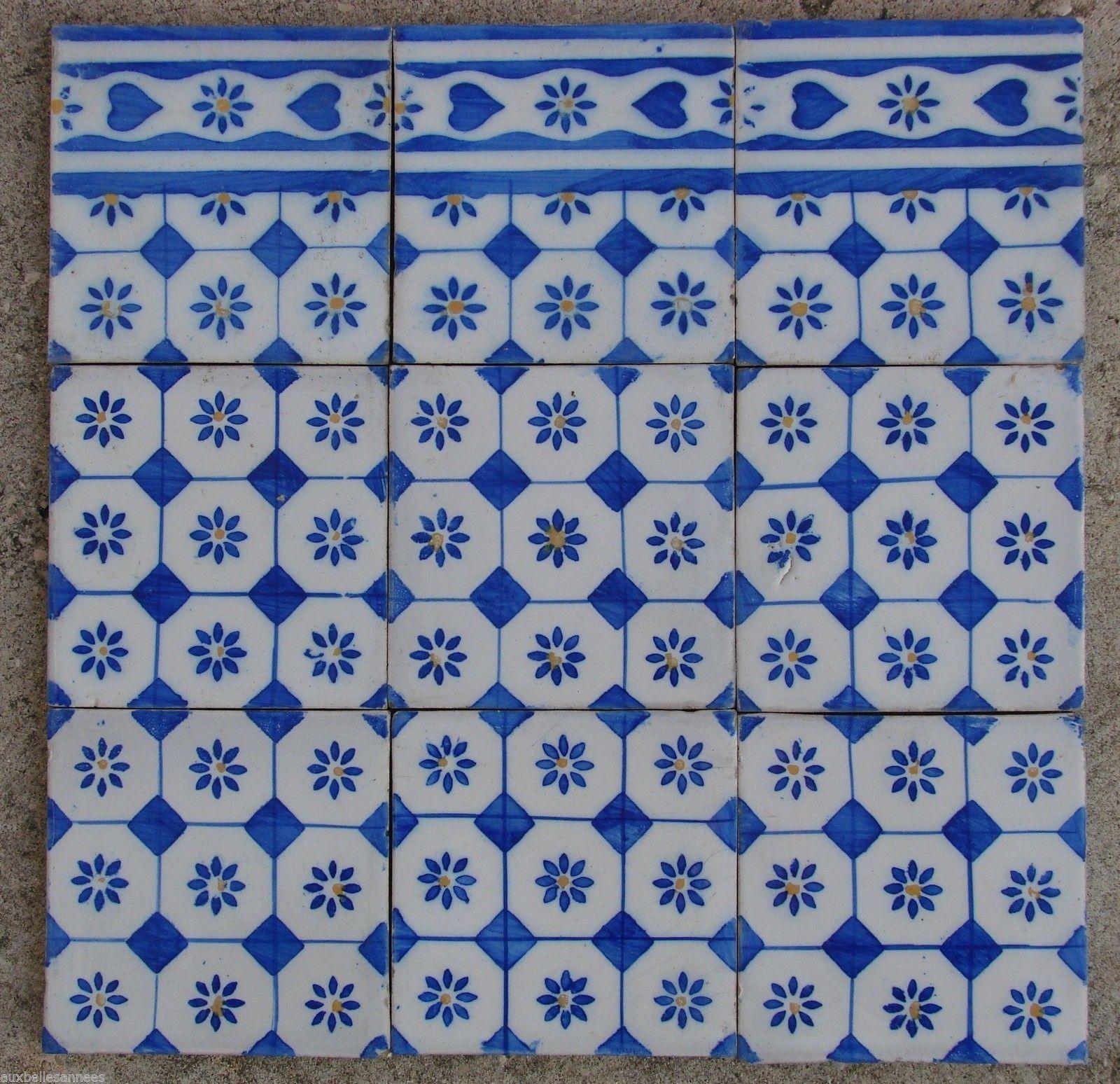 Carrelage motif ancien motifs centraux et allgements for Motif carrelage sol