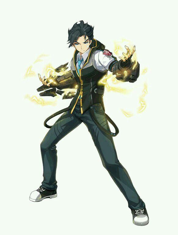 Male Elementaler Runner Character Design Male Character