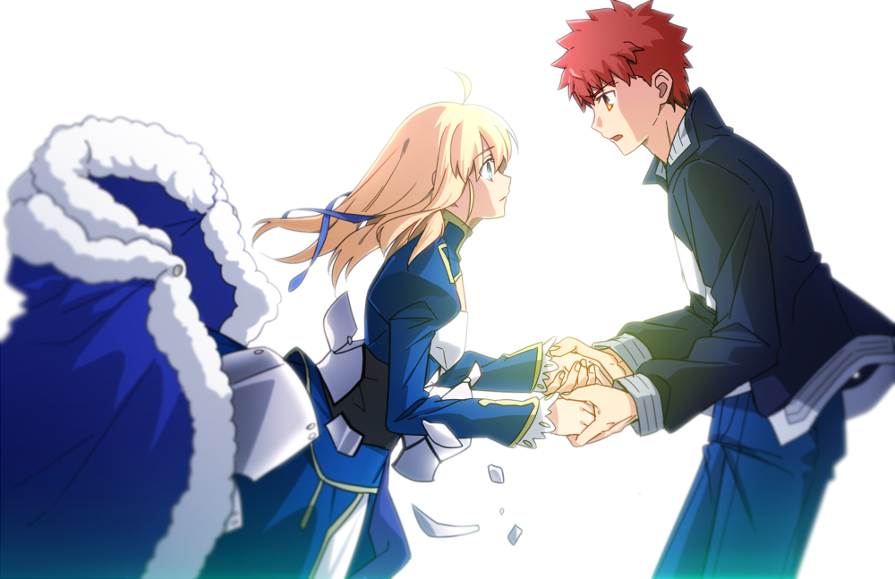 Pin By Lizzie Swanee On Shirou X Saber Fate Stay Night Shirou