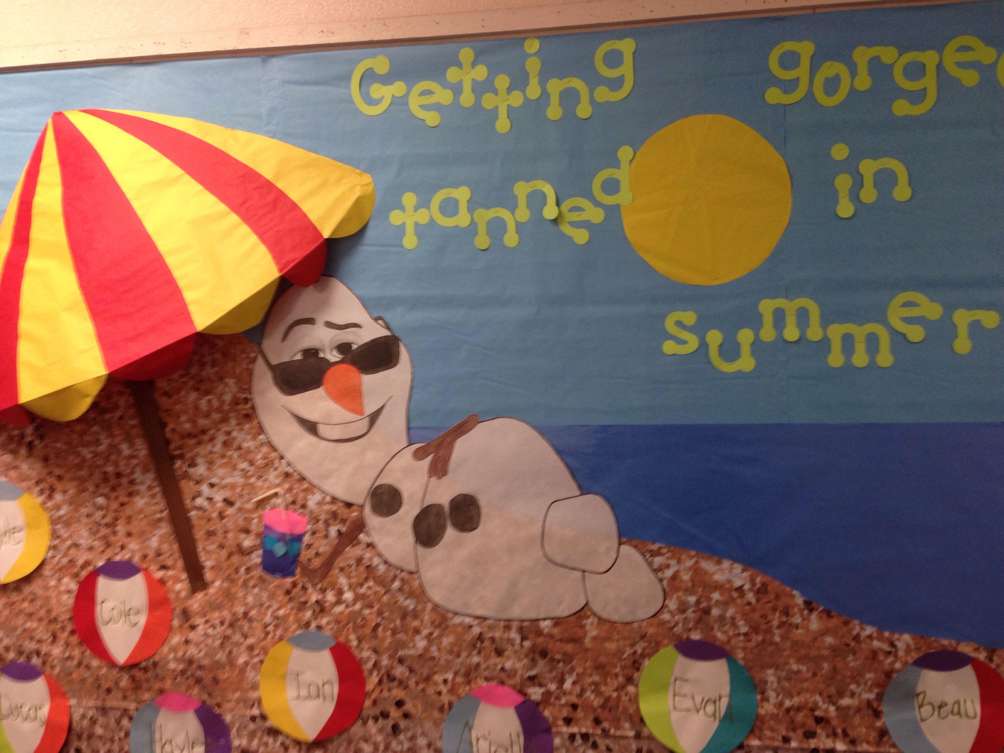 Frozen Bulletin Board