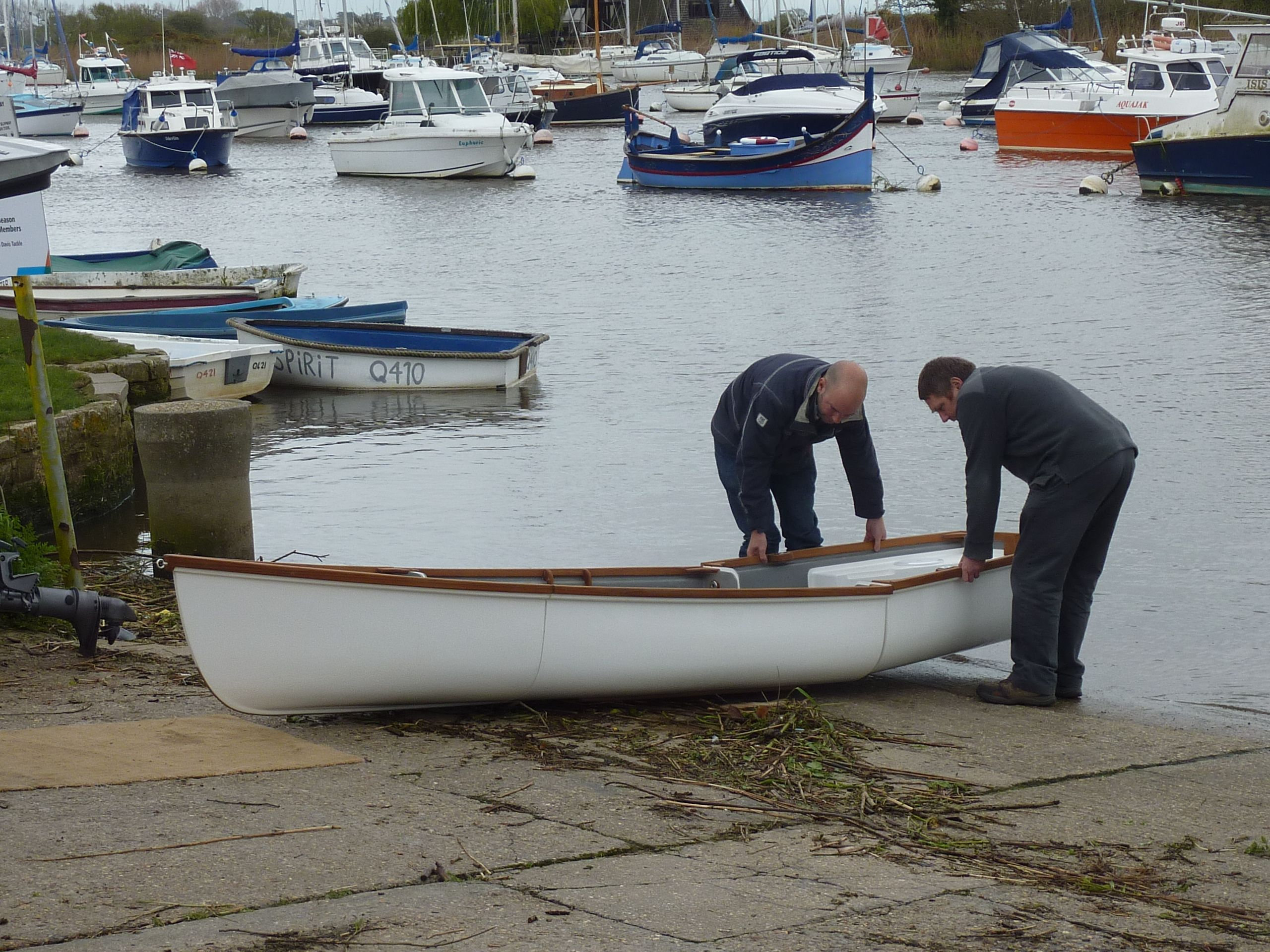 Trio 14 Sectional Nesting Boat By Nestaway Being Assembled Each