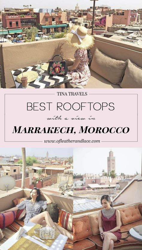 tina travels best rooftops with a view in marrakesh. Black Bedroom Furniture Sets. Home Design Ideas