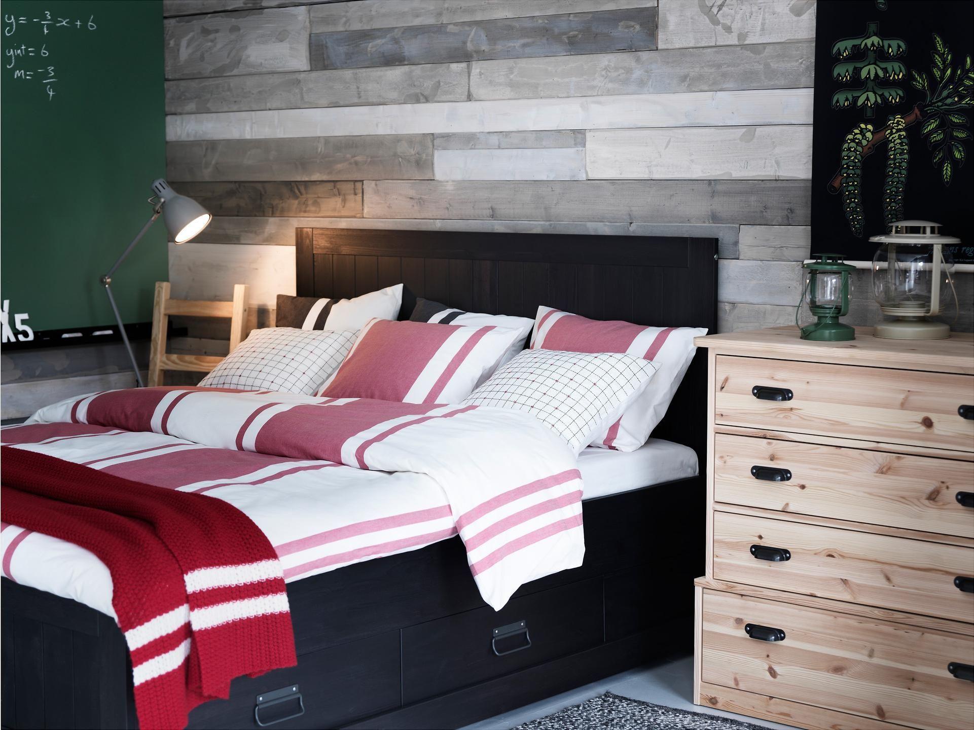 Fjell Bed Frame With Storage - Ikea Httpwwwikeacom