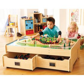 Lovely Multipurpose Play Table   Natural