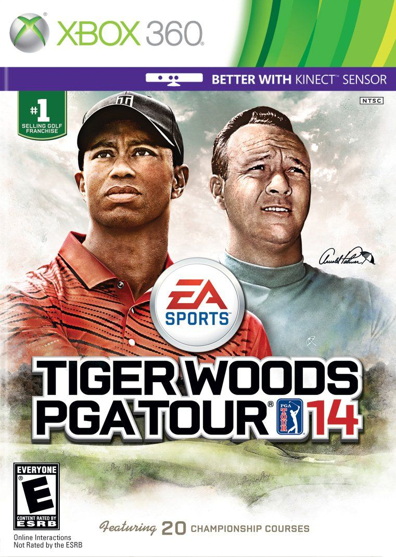 Tiger Woods PGA Tour 14 Tiger woods, Pga tour, Pga tour golf