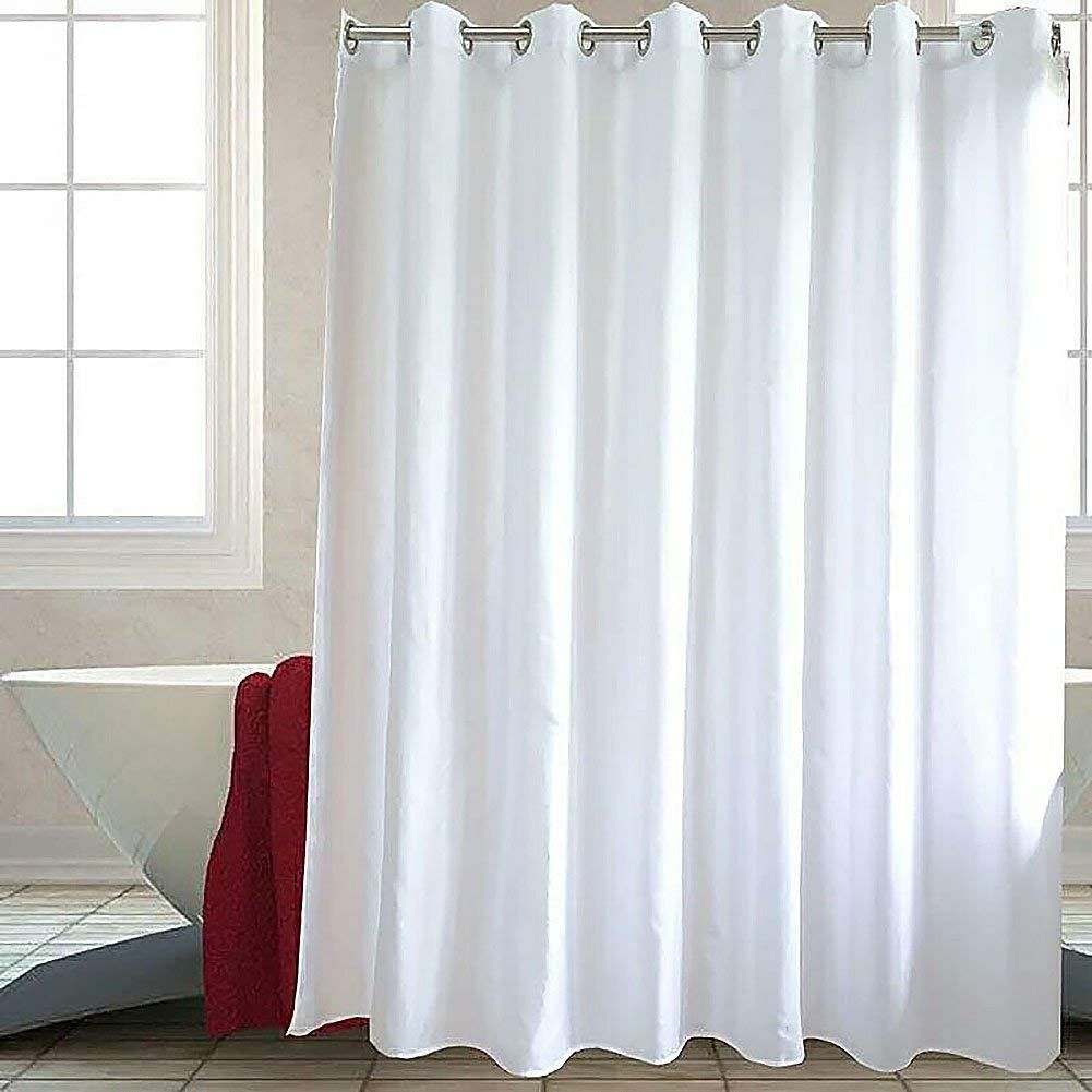 Amazon Com Galilery Mildew Resistant Fabric Shower Curtain