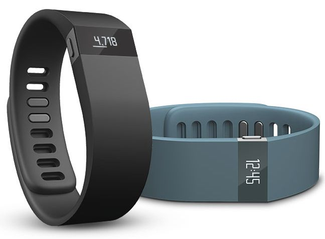 Fitbit Force ($129) is an excellent activity tracker. Think modern day pedometer, but smarter. I love the silent wake alarm (vibration) and gorgeous OLED display.