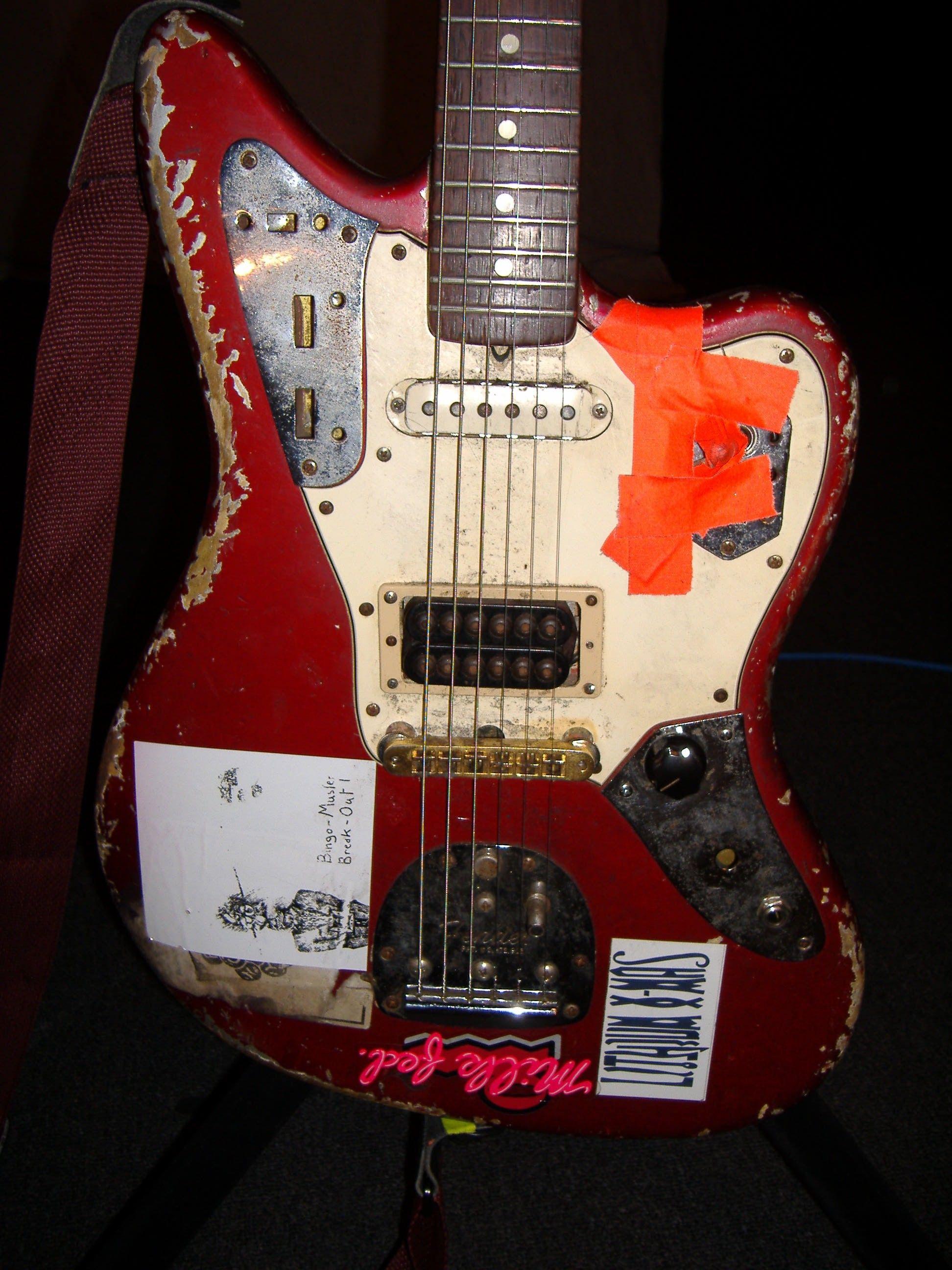 Fender Jaguar, modded and trashed | Guitars & Amps | Pinterest ...