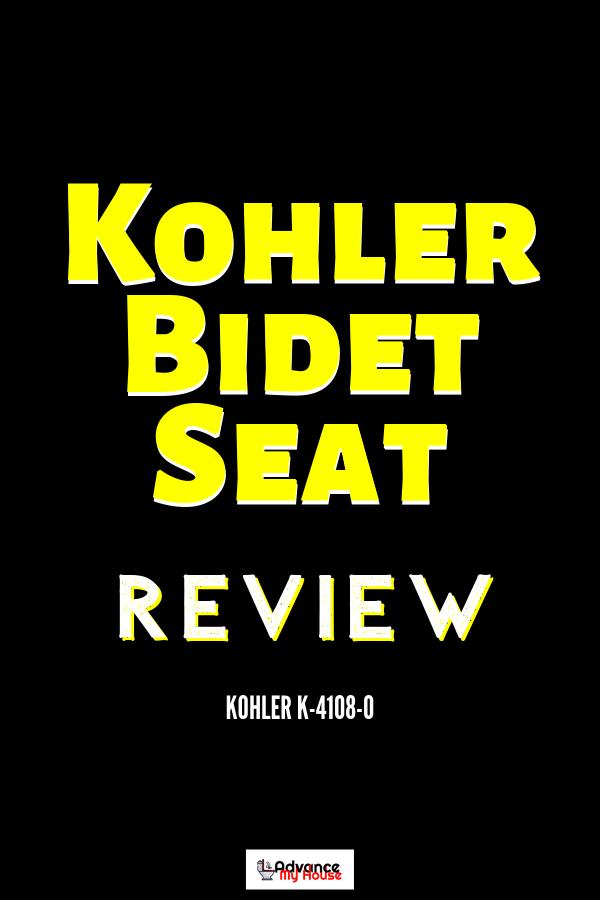 Kohler K 4108 0 Electric Bidet Toilet Seat Review With Images