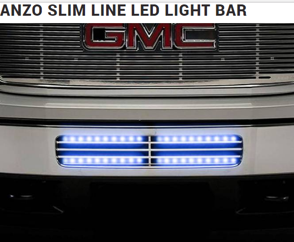 Anzo slimline led light bar universal fit for cars and trucks aloadofball Images
