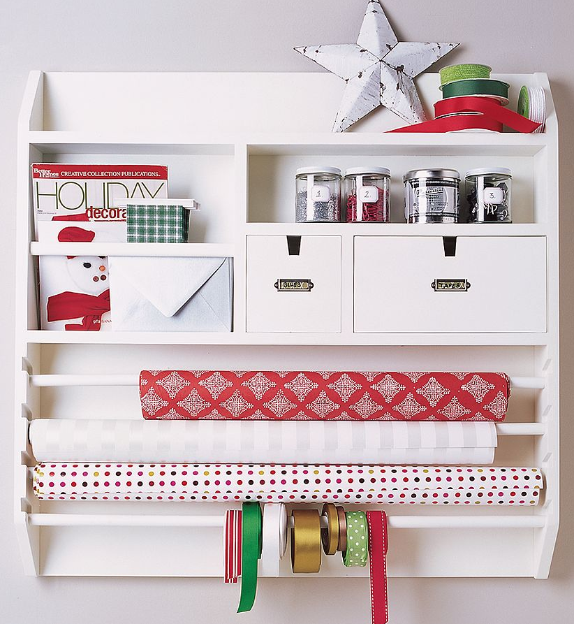 Simplified Bee®: Organizing   5 Gift Wrap Storage Solutions