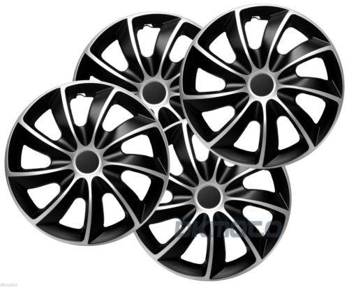 16 034 Vw Volkswagen Transporter T6 Wheel Covers 4x16 034 Black Silver