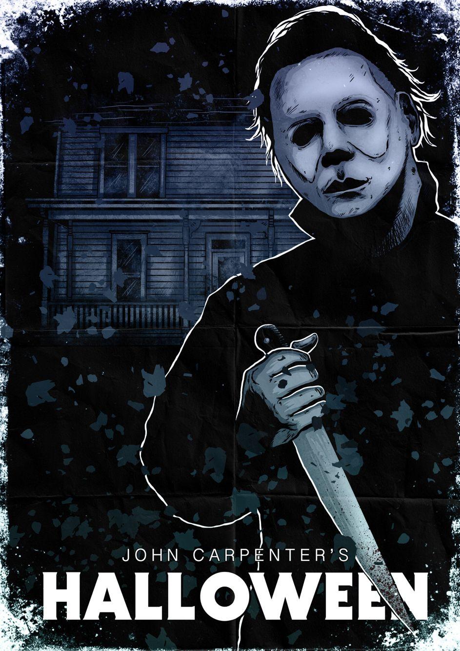 Halloween, Michael, House, Art Michael myers halloween