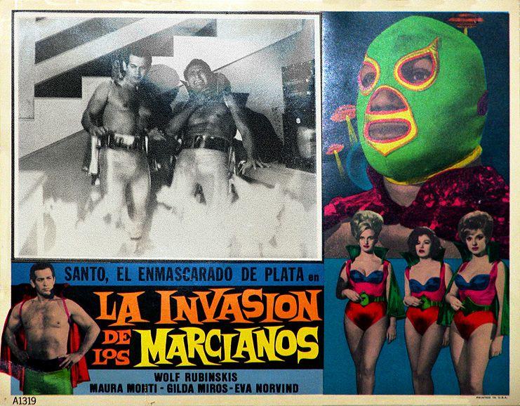 El Santo movie posters