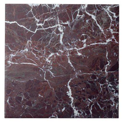 Burgundy Marble Ceramic Tile Zazzle Com In 2020 Marble Texture Marble Ceramics Ceramic Tiles