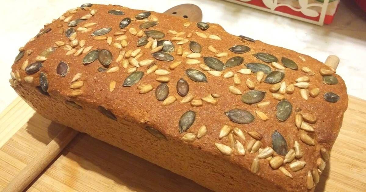 Teljes kiőrlésű tökmagos házi kenyér - Recept ekkor: 2020..