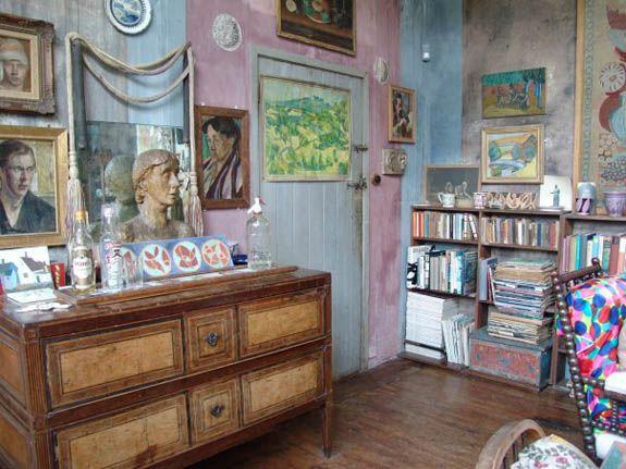 Delightful Bloomsbury Charleston House   Google Search