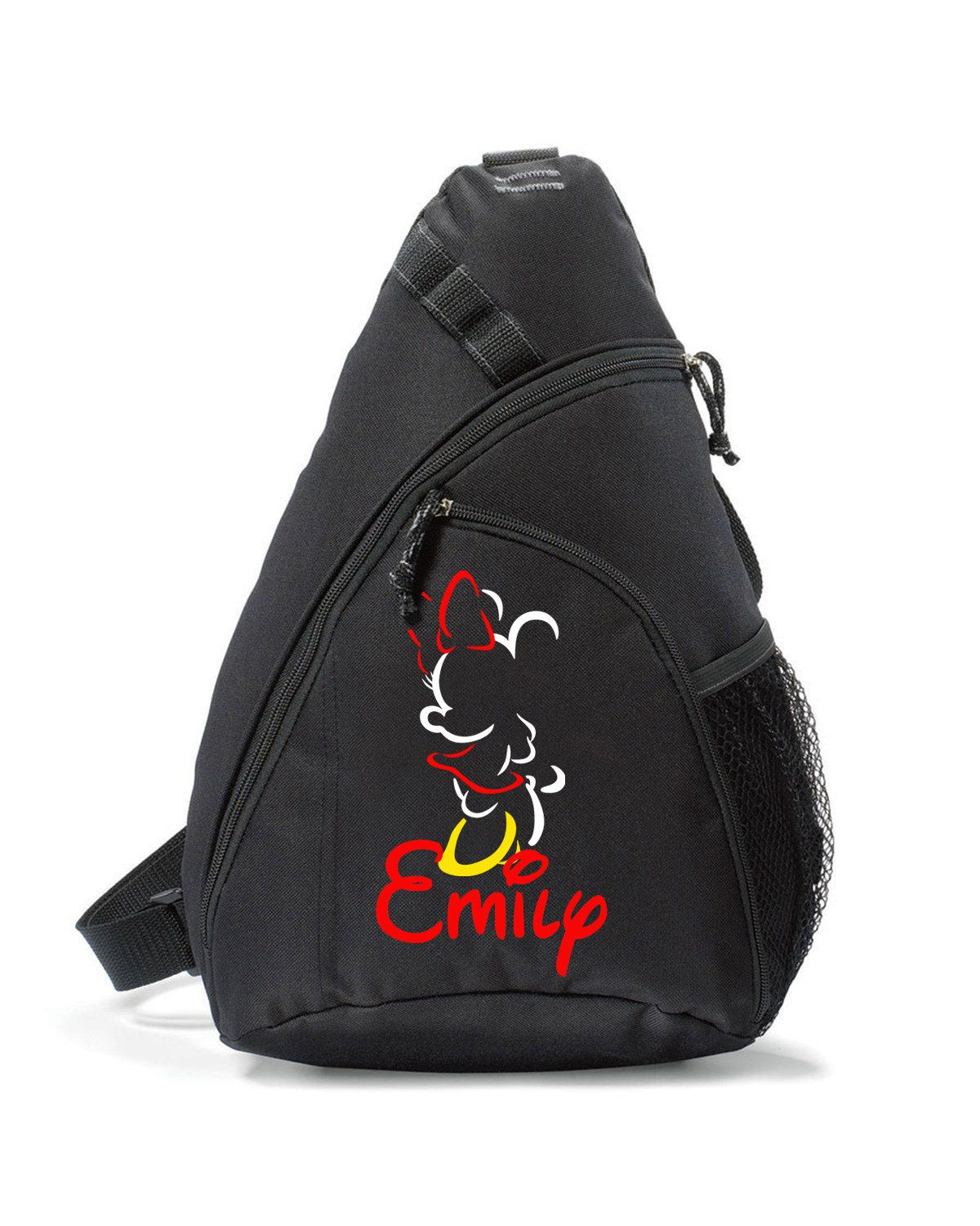Minnie Mouse Bag,Personalized,Sling bag,Disney Bag,Minnie Mouse Sling Bag,Minnie Mouse,Disney Backpack,Sling Bag Backpack,Minnie Backpack