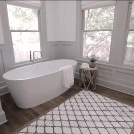 20+ totally inspiring bathroom rug design to make it