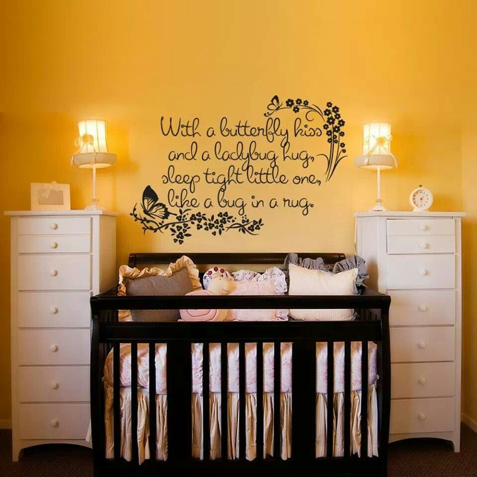 Like the dressers on each side of bed | Baby room decorating ideas ...