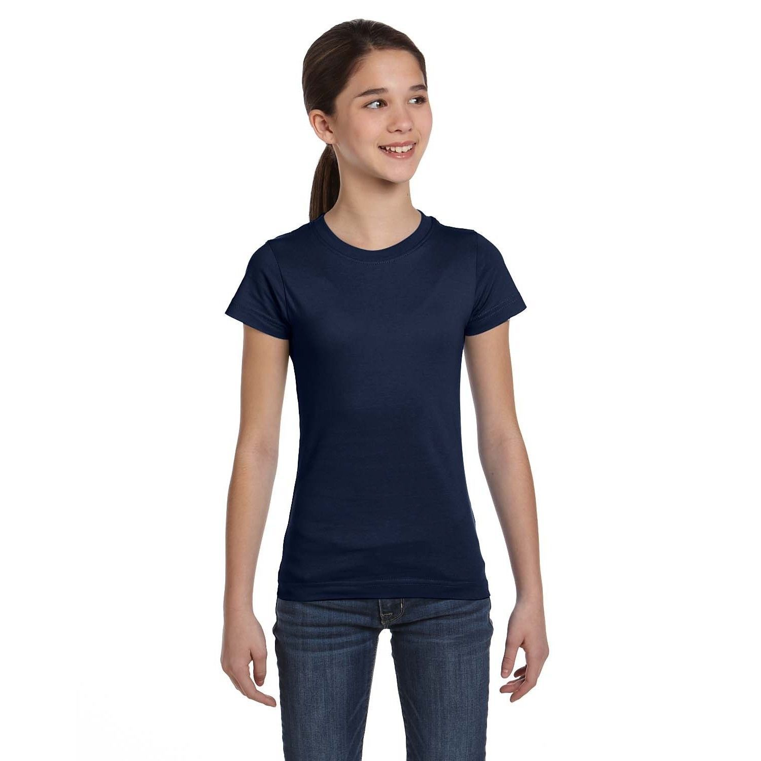 7105cdf2 Fine Girl's Navy T-shirt   Products   T shirt, Fine girls, Clothes
