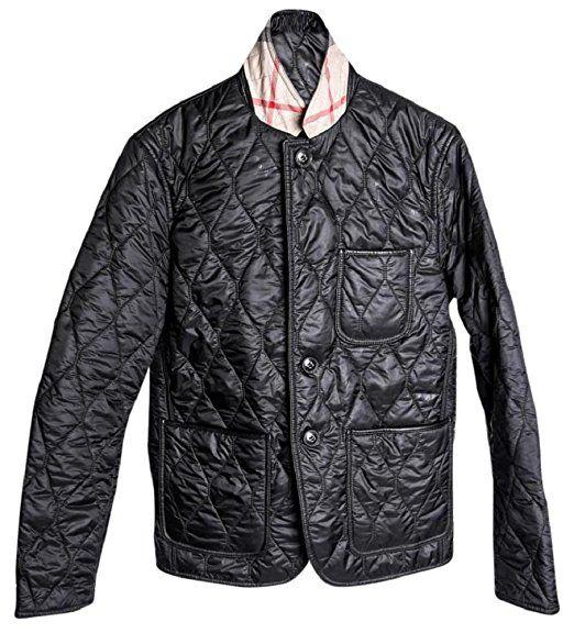 Burberry Men S Gillington Black Quilted Jacket Black Quilted Jacket Quilted Jacket Stylish Jackets