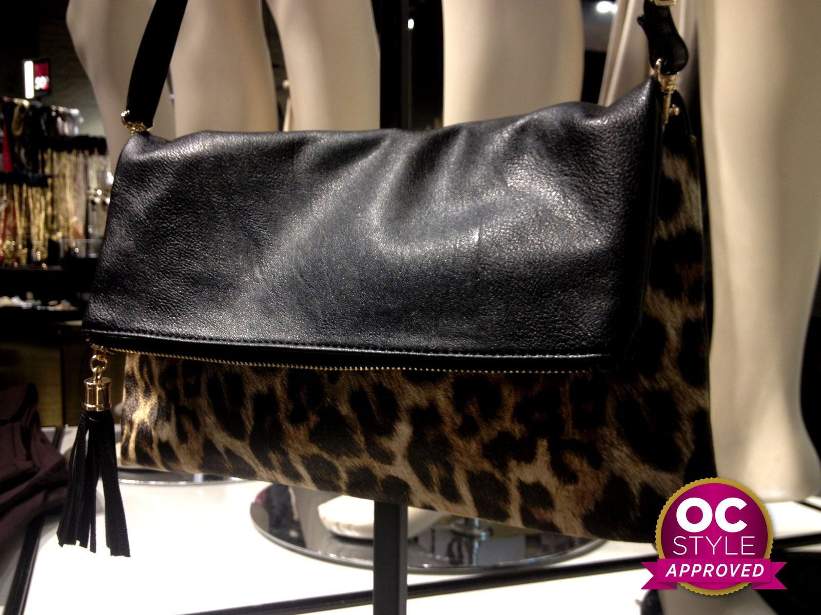 Wild and trendy handbag - Oshawa Centre Style Approved by @Lena Almeida - Find it at Dynamite