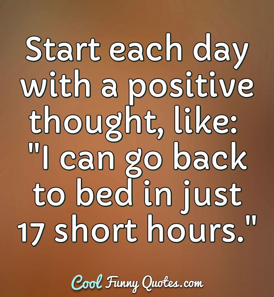 Funny Quote Funny Positive Quotes Sunday