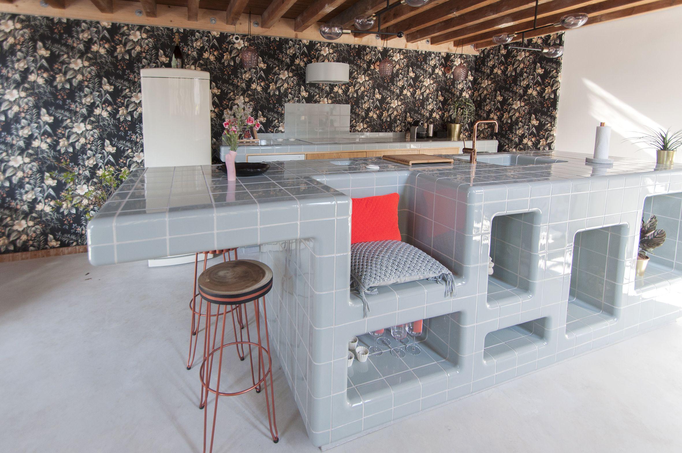 Dtile Le Carrelage Le Plus Polyvalant Du Monde Qui S Adapte A Vos Surfaces Carrelage Cuisine Decoration Maison Idee Cuisine
