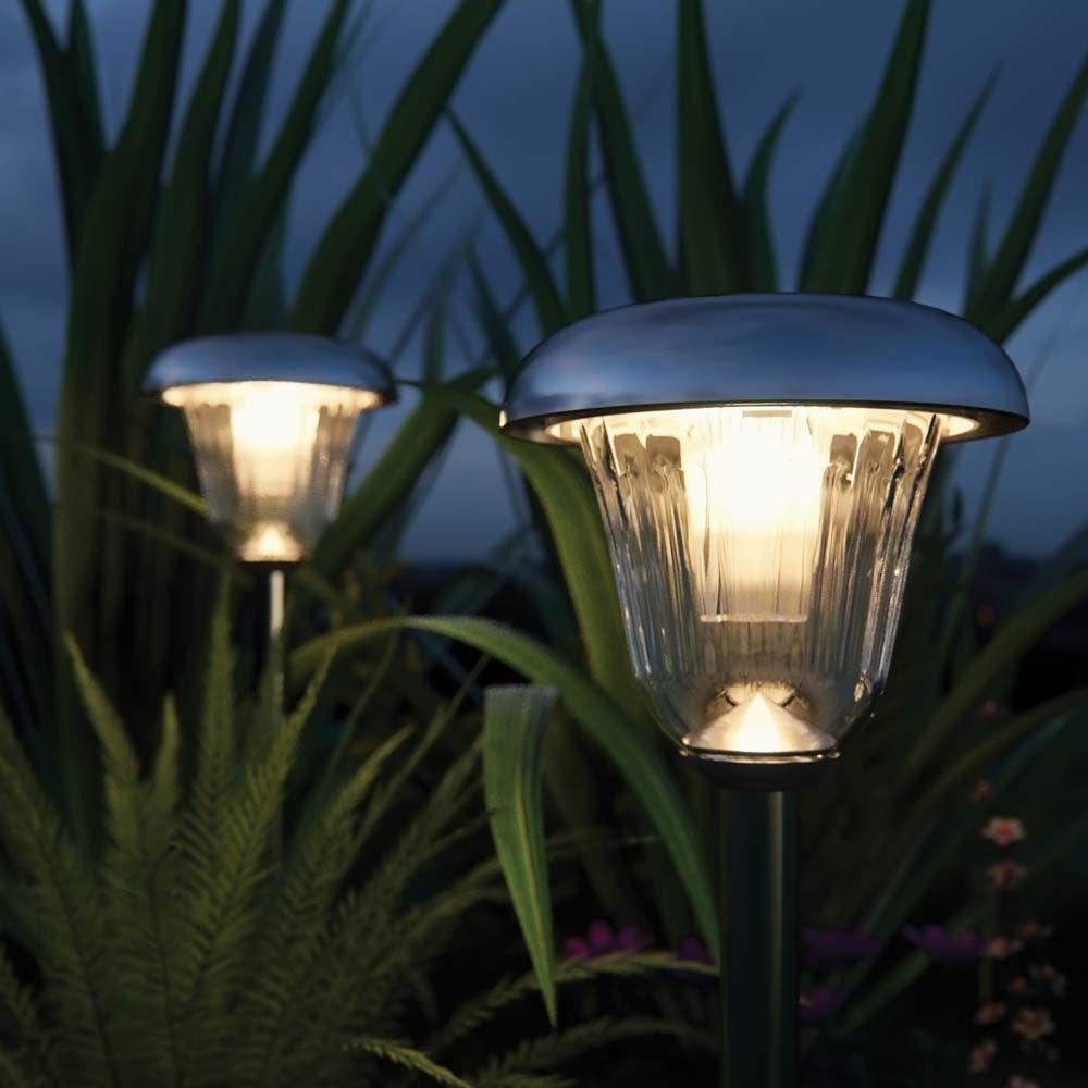 Tunbridge Deluxe Solar Garden Lights (Set Of 2) Solar