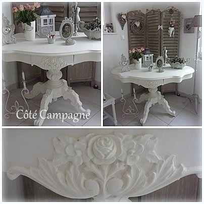 ma table violon chin l 39 ann e derni re peinture liberon blanc alb tre id e deco. Black Bedroom Furniture Sets. Home Design Ideas