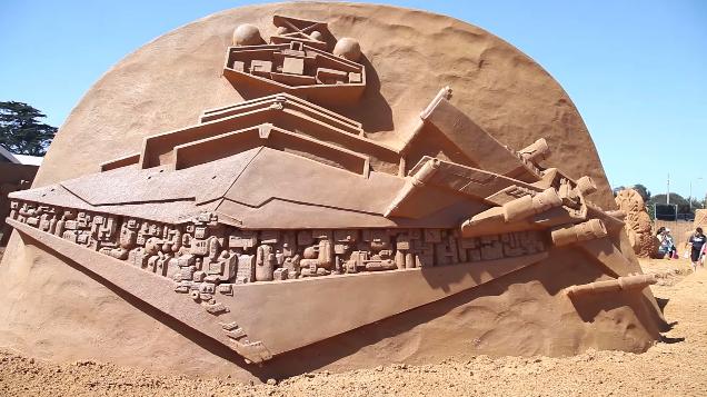 Sand Sculpting Australia, Star Wars