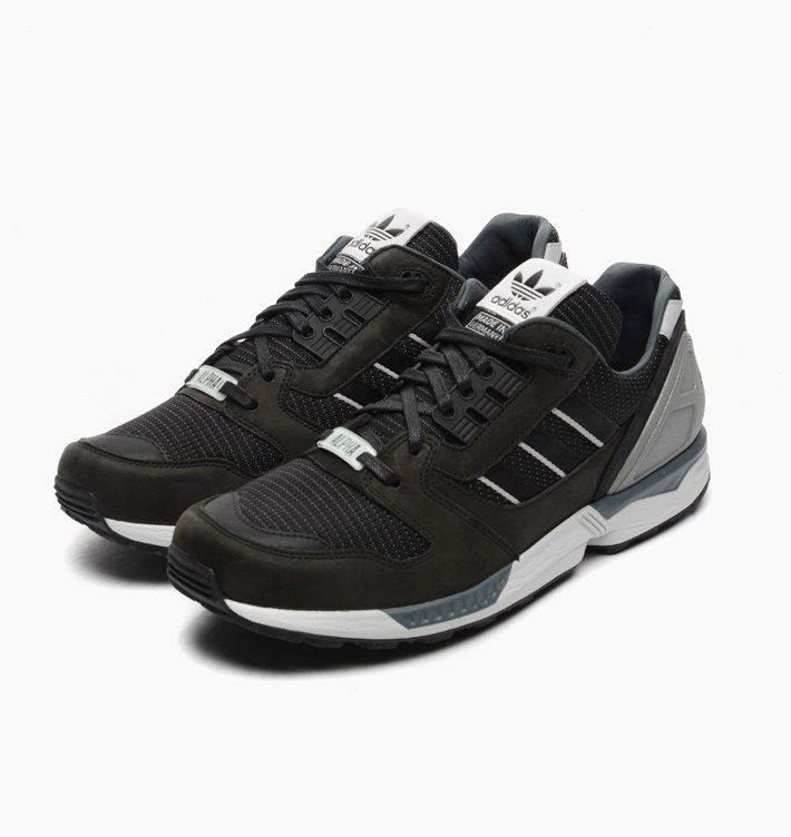 sports shoes 3dd12 a4f98 Adidas Originals ZX 8000 Alpha This amazing ZX 8000 pack is a tribute to  the Fall of the Wall (25 years since the wall that divided East and West  Berlin was ...