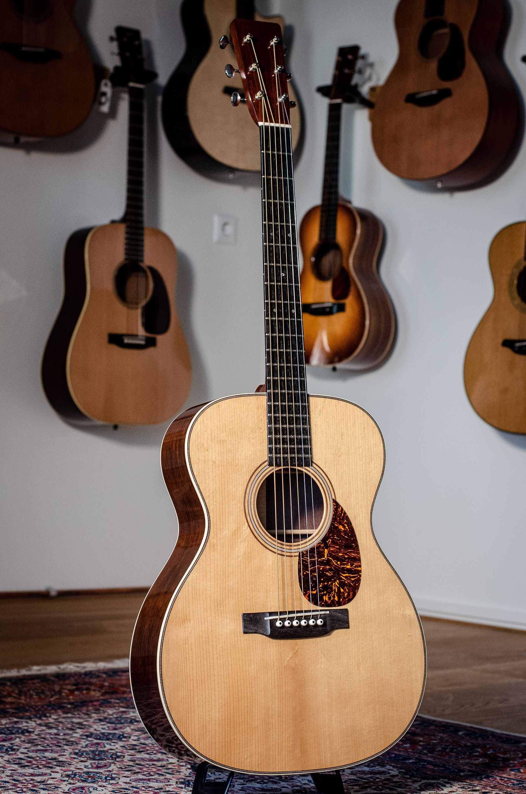 Martin Om28 Authentic 1931 Vts Mint 2015 Martin Acoustic Guitar Martin Guitar Acoustic Guitar