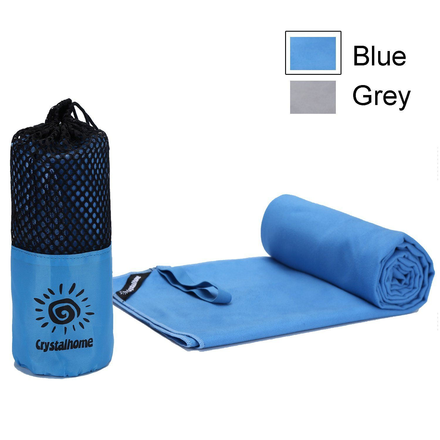 Gym Sport Travel Camping Beach Fast Drying Cotton Bath Towel Yoga Mat Towel W