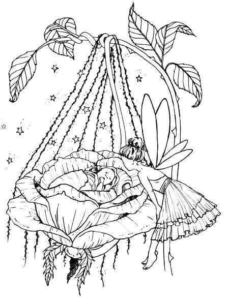Cloloring Fairy Coloring Pages Coloring Pages Baby Coloring Pages