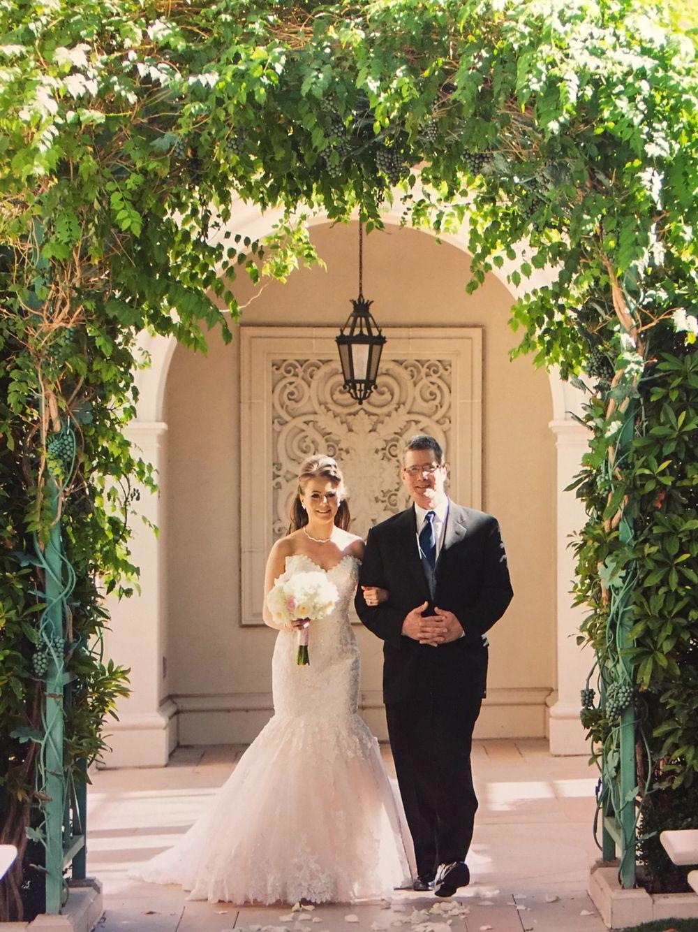 Vegas wedding Juno garden Caesars palace Palace