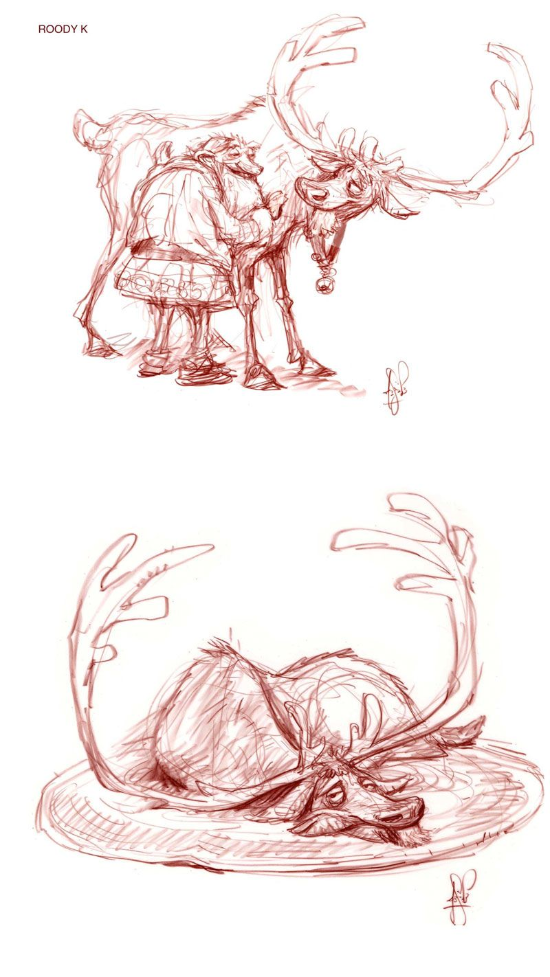 Arthur-Christmas-concept-arts-02 || CHARACTER DESIGN REFERENCES | Find more at…