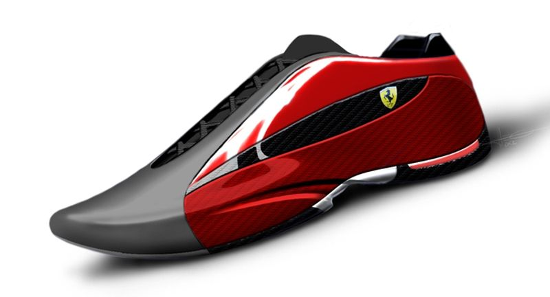 58477913295 Motorsports footwear work for Fila Concepts and products for Ferrari ...