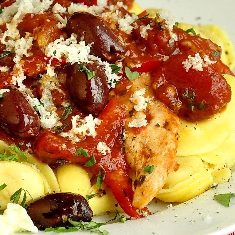 Garlic Chicken Puttanesca Rock Recipes The Best Food Photos